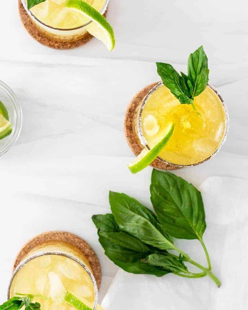 Cucumber Basil Margarita Recipe   The Hangry Chickpea