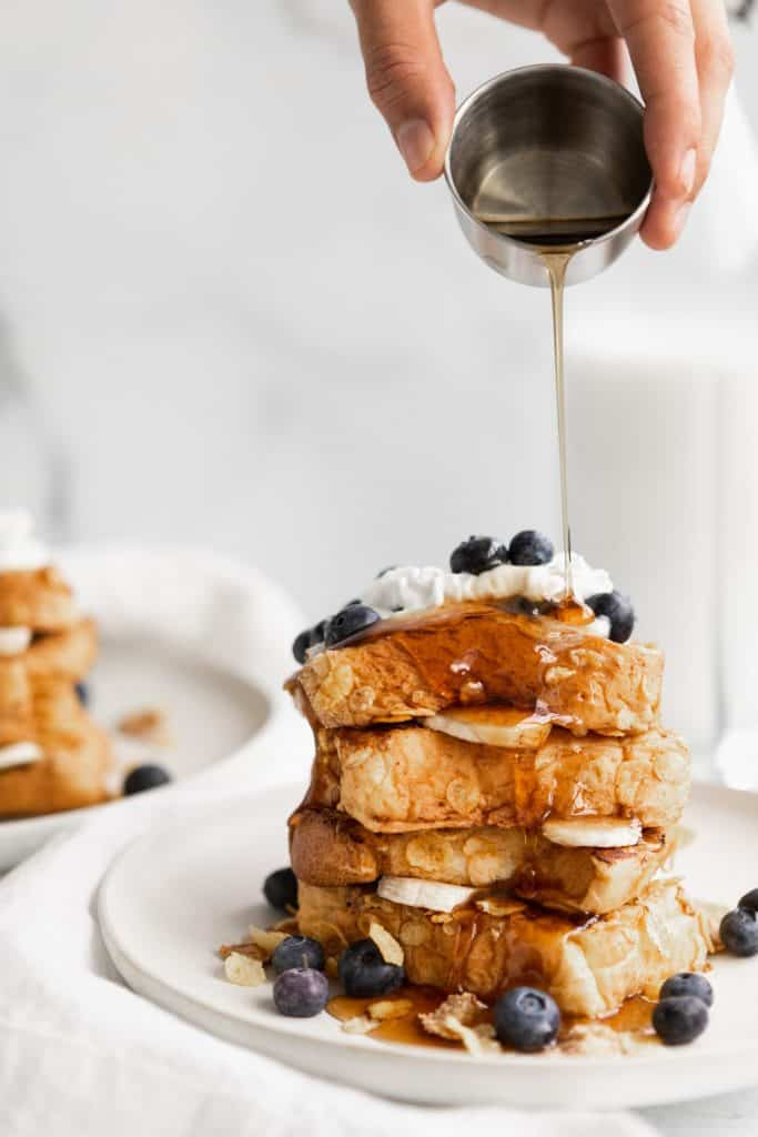 Vegan Cornflake French Toast   The Hangry Chickpea