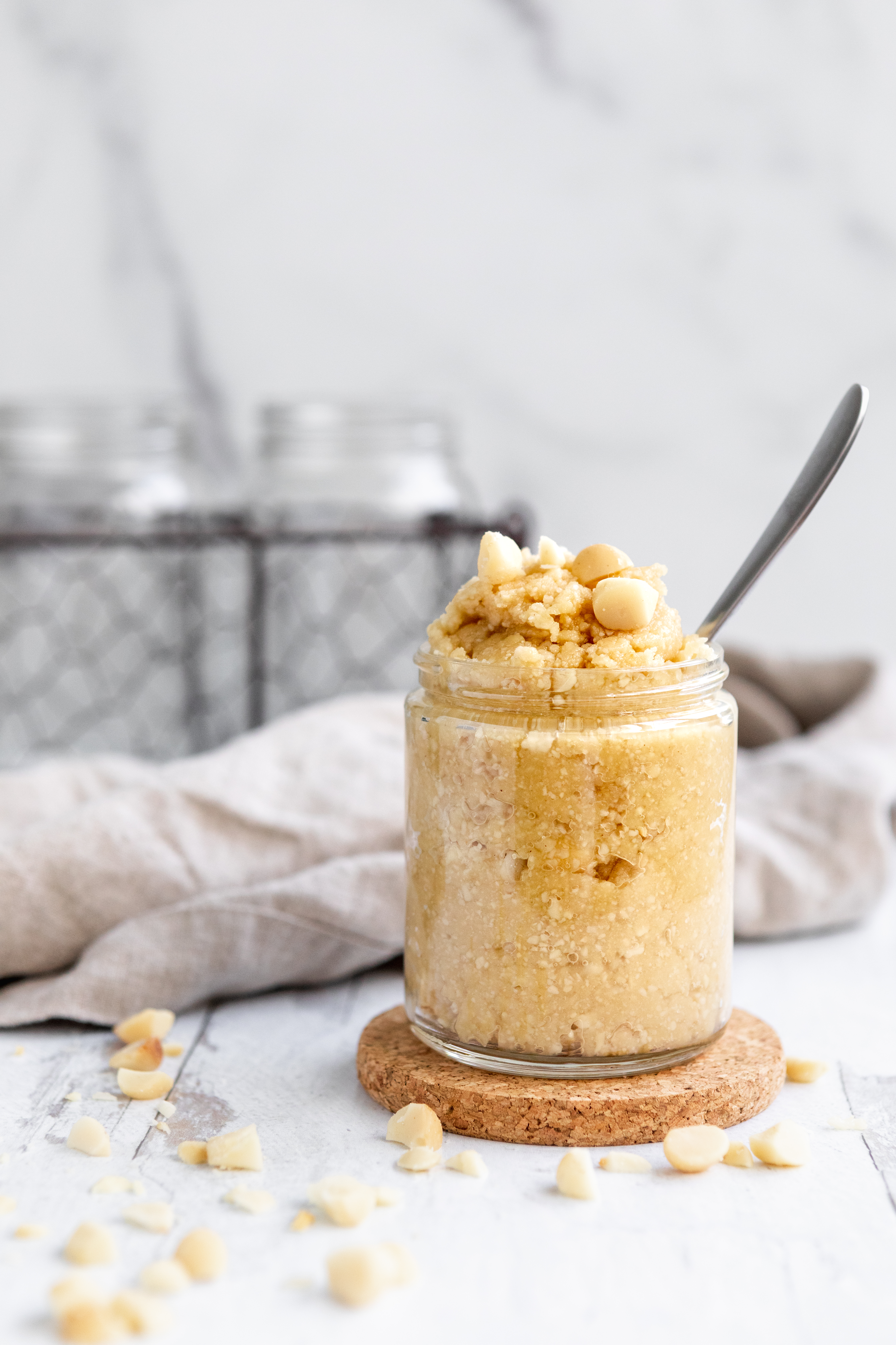 Macadamia Nut Butter Recipe   The Hangry Chickpea