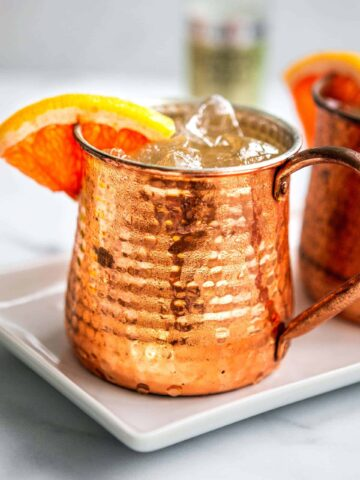 Grapefruit Moscow Mule Recipe | The Hangry Chickpea