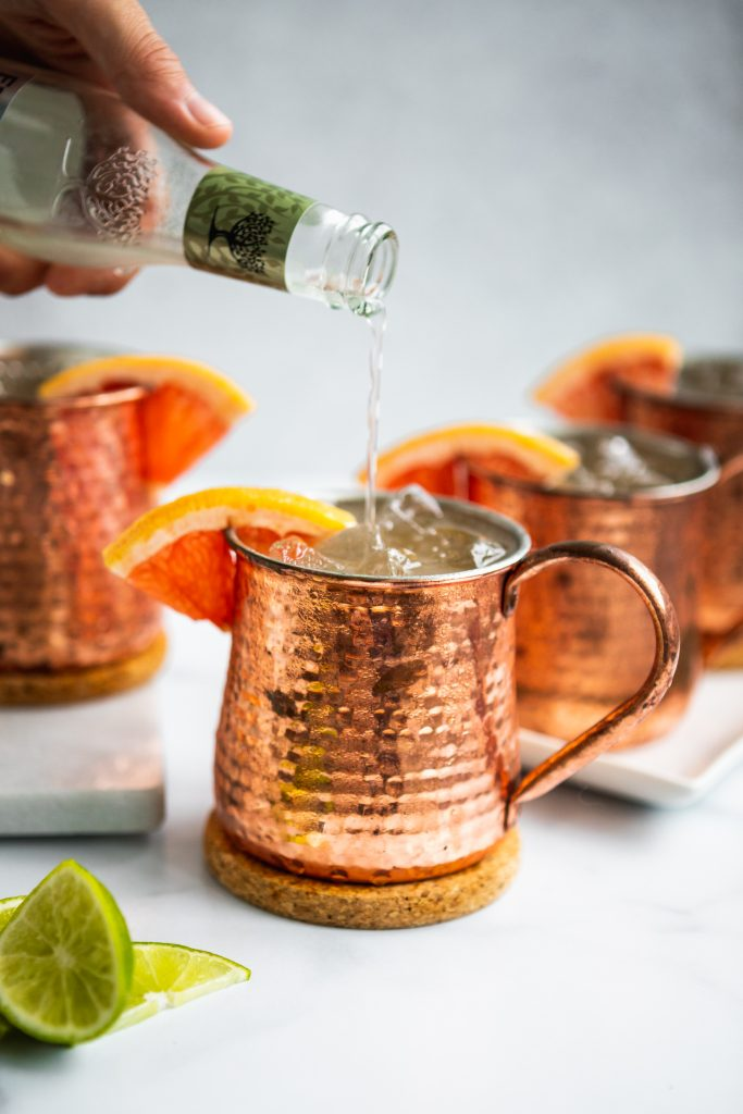 Grapefruit Moscow Mule Recipe   The Hangry Chickpea