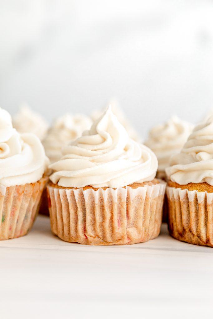 Vegan Funfetti Cupcakes | The Hangry Chickpea