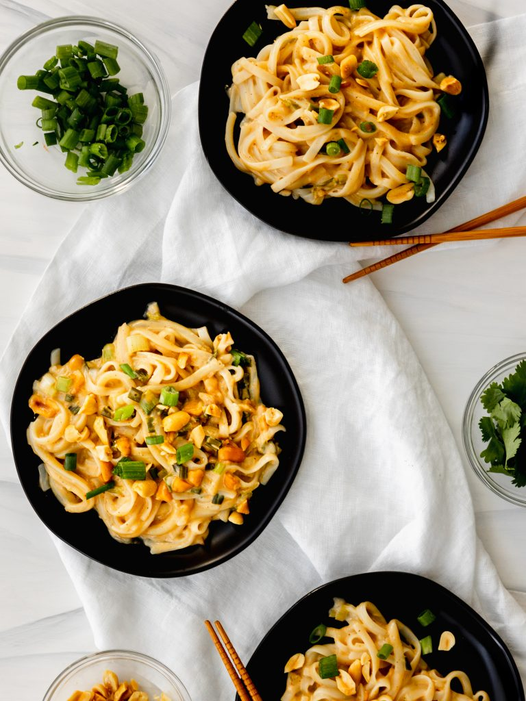 Plant Based Pad Thai Recipe   The Hangry Chickpea