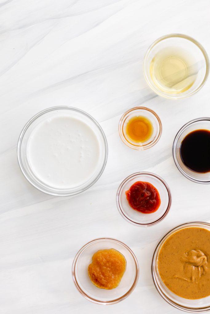 Spicy Vegan Peanut Sauce | The Hangry Chickpea